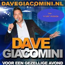 Zondag 30 september na afloop van FC Uitgeest - Velsen live muziek met Dave Giacomini