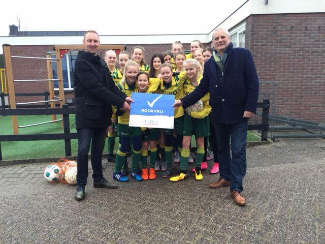 FC Uitgeest is al vanaf 2019 rookvrij!