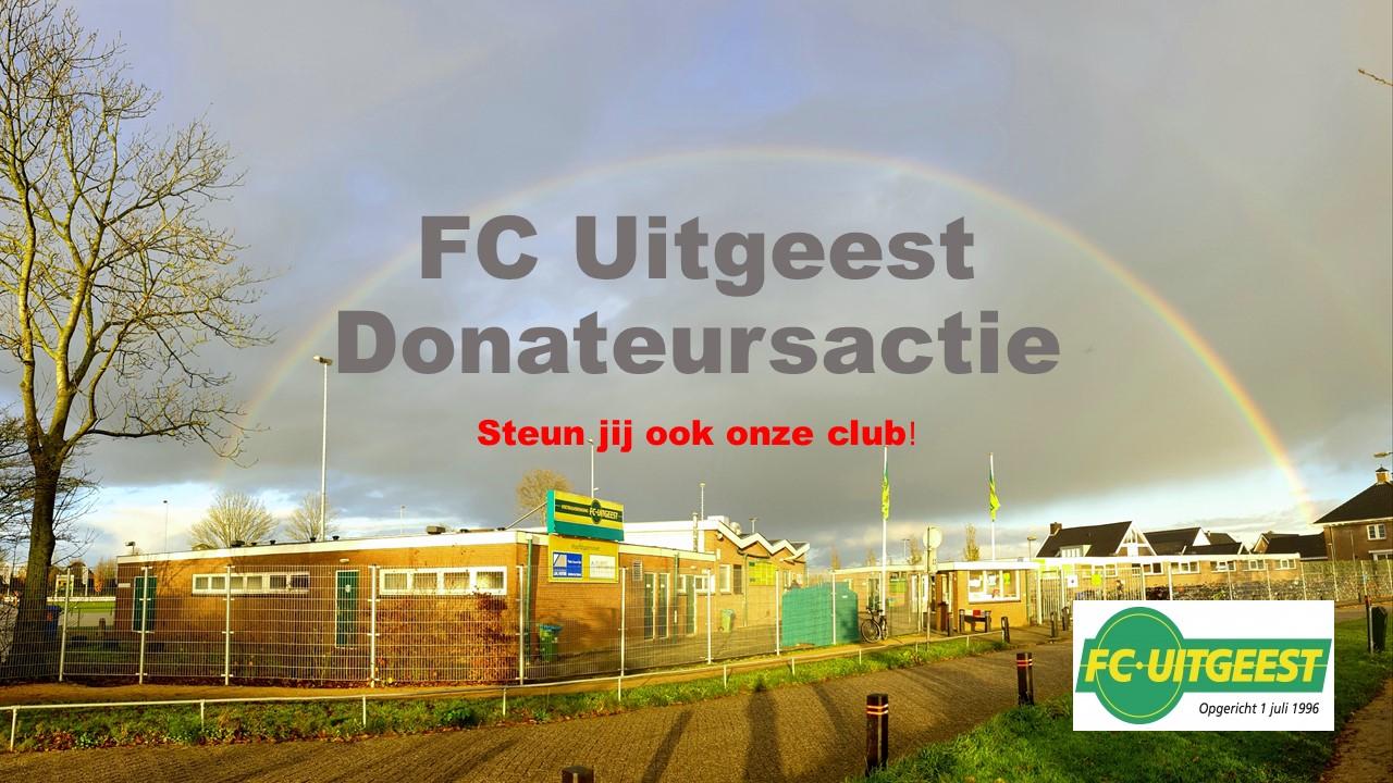 Donateursactie FC Uitgeest gericht op (groot)ouders!