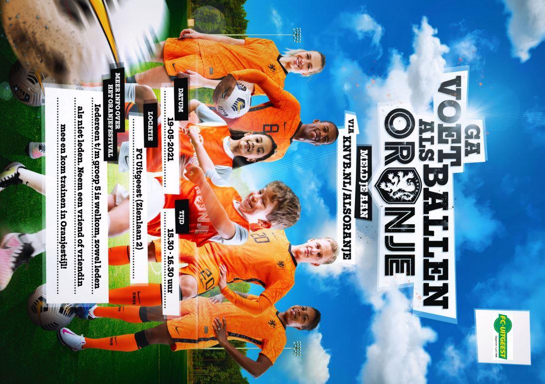 FC Uitgeest organiseert uniek Oranjefestival !