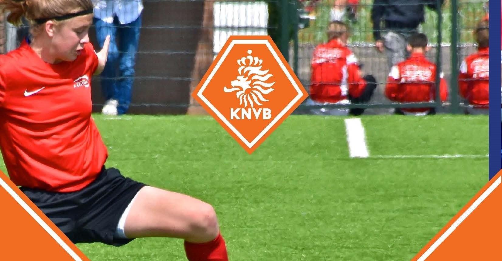 Ella Mae Pervan van FC Uitgeest heeft een uitnodiging ontvangen voor het Jeugdplan Nederland van de KNVB