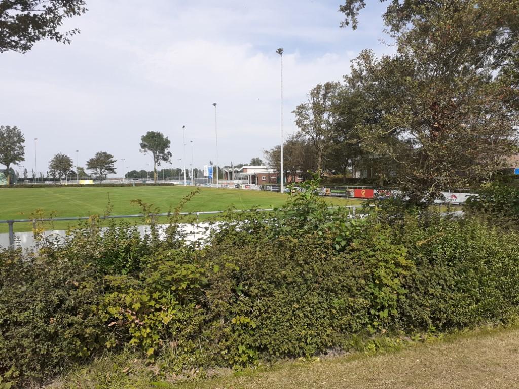 Renovatiewerkzaamheden bij FC Uitgeest