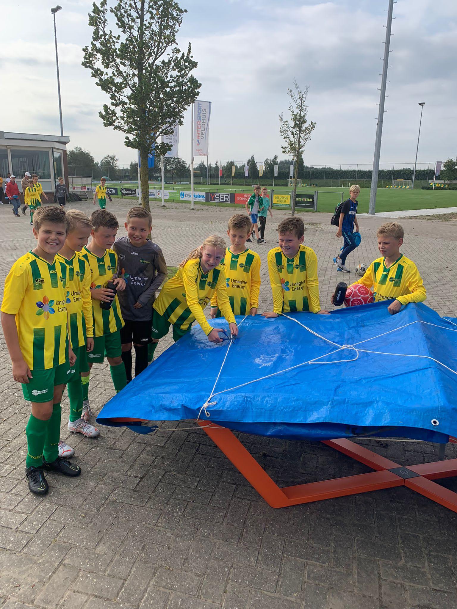 Teqballtafel bij FC Uitgeest