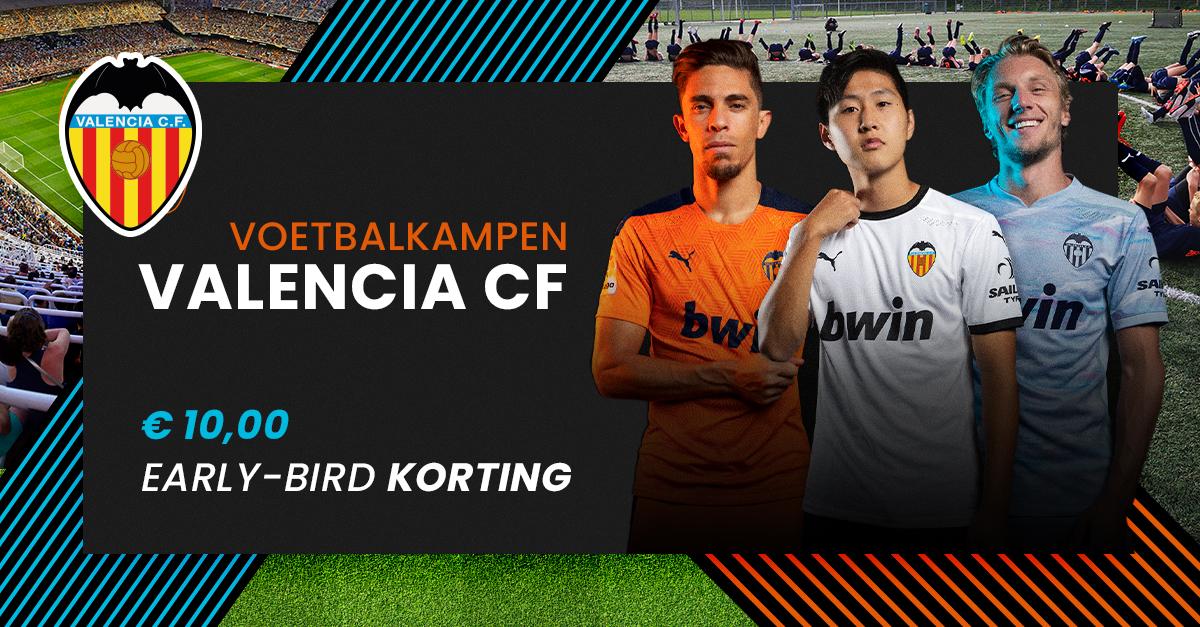 Valencia Voetbalkamp 2021 bij FC Uitgeest